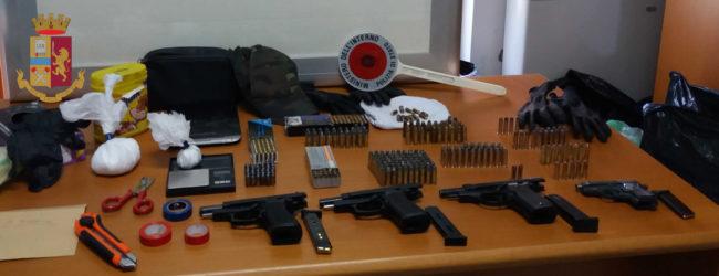 Deteneva illegalmente 4 pistole, 1 motociclo e 1 auto rubate: arrestato 43enne barlettano. Ecco di chi si tratta. VIDEO