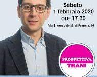 Trani – Amministrative 2020: oggi la presentazione del candidato sindaco Attilio Carbonara