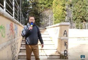 Andria – Un'immagine vergognosa: ecco lo stato in cui versa l'anfiteatro comunale. VIDEO e FOTO