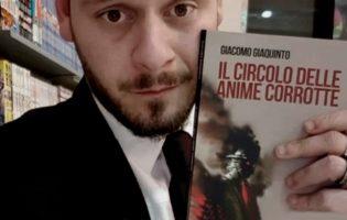 """Barletta – Storia del thriller e presentazione di """"Il circolo delle anime corrotte"""" di Giacomo Giaquinto"""