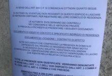 Trani – Questura, attenzione agli avvisi del Ministero dell'Interno sui portoni: sono FALSI