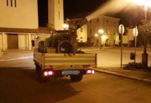 Andria – Sanificazione della città: stanotte verrà completata la terza e ultima zona