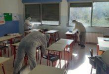 Andria – Coronavirus, sanificazione edifici scolastici tra venerdì 6 e sabato 7 marzo