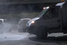Sanificazione straordinaria delle strade a Barletta e a Margherita di Savoia