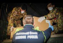 Esercito: già operativo il piano di trasporti di dispositivi sanitari