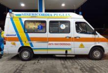 Dopo l'incendio la speranza: un'ambulanza della Federazione donata alla Misericordia di Martina Franca