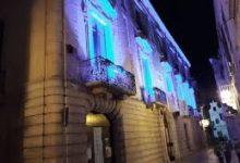 Trani – Giornata della consapevolezza sull'autismo: Palazzo Beltrani si illumina di blu