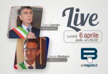 Lunedì in diretta i sindaci di Barletta e Trani