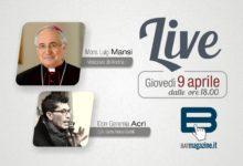 Giovedì 9 aprile in diretta il Vescovo mons. Luigi Manzi della diocesi di Andria