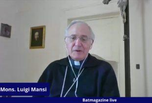 """Andria – In esclusiva l'intervista al Vescovo, mons. Luigi Mansi, e il programma della Settimana Santa"""". VIDEO"""