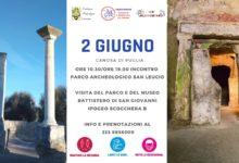 """CANOSA – Il 2 giugno """"Passeggiata tra parchi archeologici ed ipogei"""""""