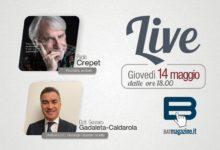 """""""Batmagazine live"""": giovedì 14 maggio ospiti Paolo Crepet e Gennaro Gadaleta Caldarola"""