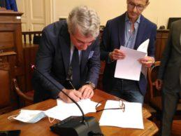 Nasce ad Andria il Distretto Urbano del Commercio (Duc): firmata la convenzione