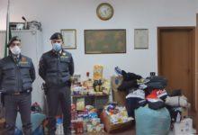 Guardia di Finanzia: Devoluzione di capi contraffatti alla Caritas e di beni alimentari ad una parrocchia periferica di Andria. Video