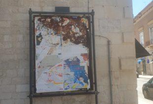 """Barletta – Impianti pubblicitari, Cascella (PD) : """"Versano in uno stato di totale abbandono"""". Foto"""