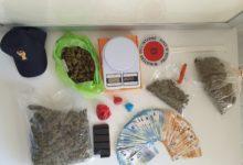 Barletta – A spasso con oltre 1 kg tra marijuana e hashish: arrestati due pusher dalla Polizia di Stato
