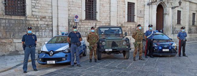 BAT – Militari dell'esercito in servizio sulle strade della provincia. FOTO