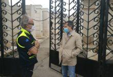 "Bisceglie – Sopralluogo al cimitero, sindaco: ""ingressi contingentati e niente assembramenti"". FOTO"