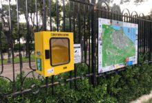 """Molfetta – Ruba il defibrillatore di piazza Garibaldi, ma poi lo rimette a posto. Denunciato il ladro """"pentito"""""""