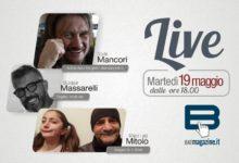 """Batmagazine live"""" martedì 19 maggio con Mancori, Massarelli, Mitolo"""