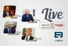 """""""Batmagazine live"""": martedì 12 maggio ospiti Dario Damiani, Filippo Caracciolo, Francesco Ventola, Marcello Lanotte"""