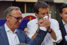 Andria – Matteo Salvini in città per presentare il candidato sindaco Antonio Scamarcio. FOTO e VIDEO