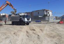 Barletta – Lavori in corso per i marciapiedi di Ponente e per l'attraversamento pedonale di via Andria