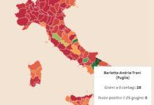 La provincia di Barletta-Andria-Trani è Covid-free: 28 giorni consecutivi senza contagi