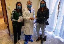 """""""Amici Per La Vita"""" Onlus dona mascherine baby alla pediatria di Andria."""
