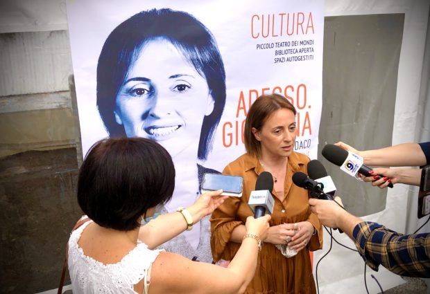 Andria – Festa di apertura del comitato di Sabino Zinni e Giovanna Bruno
