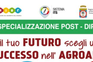 ANDRIA – Prorogata la data di iscrizione ai corsi di Alta Formazione dell'ITS Agroalimentare Puglia