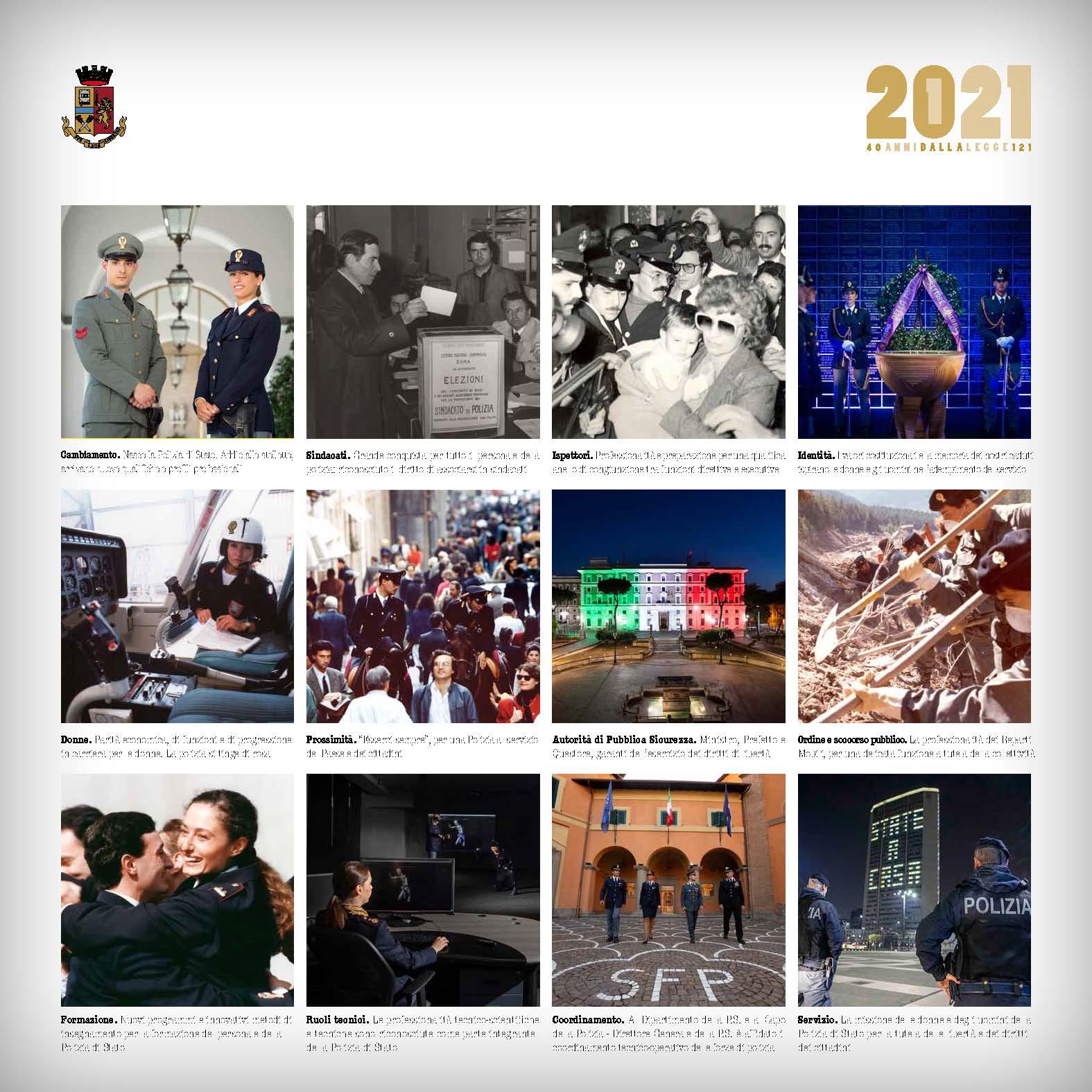 Presentato il calendario della Polizia di Stato 2021   BATmagazine